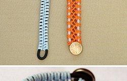 Плетение оригинальных и стильных браслетов из шнурков