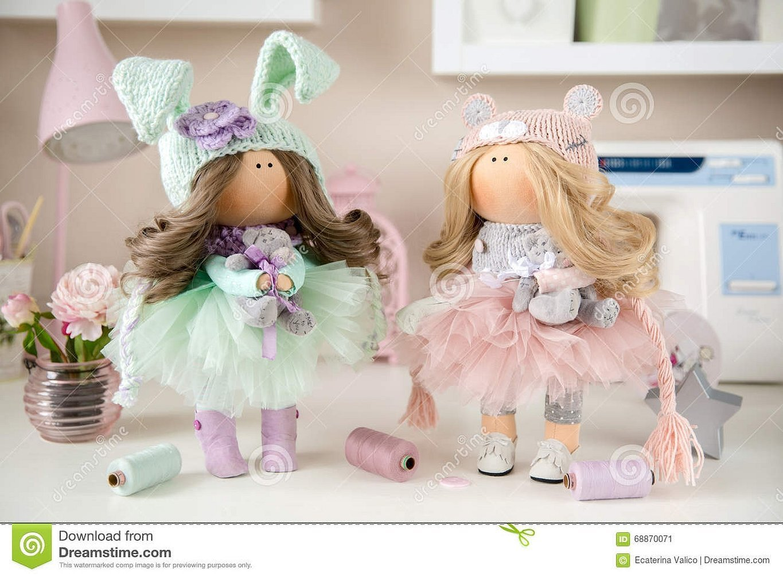 Интерьерные куклы милы златовчена