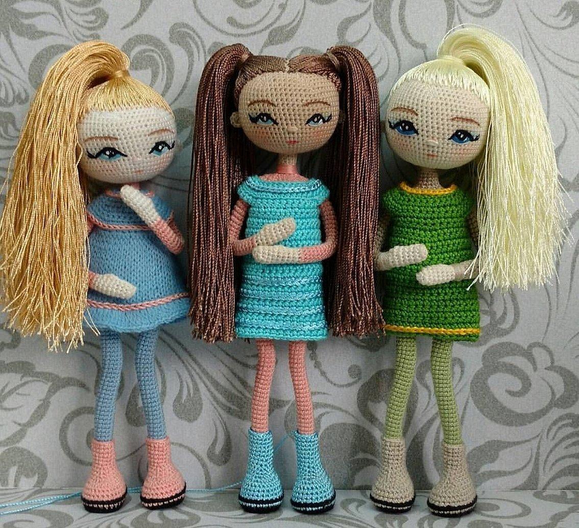 Вязаные куклы амигуруми