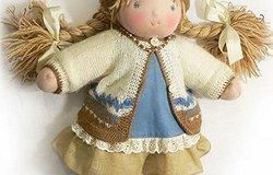 Вальдорфская кукла своими руками: мастер класс для начинающих