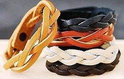 Как делаются браслеты из кожи своими руками?