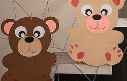 Как сделать медведя из бумаги: схемы детских поделок для складывания и вырезания своими руками