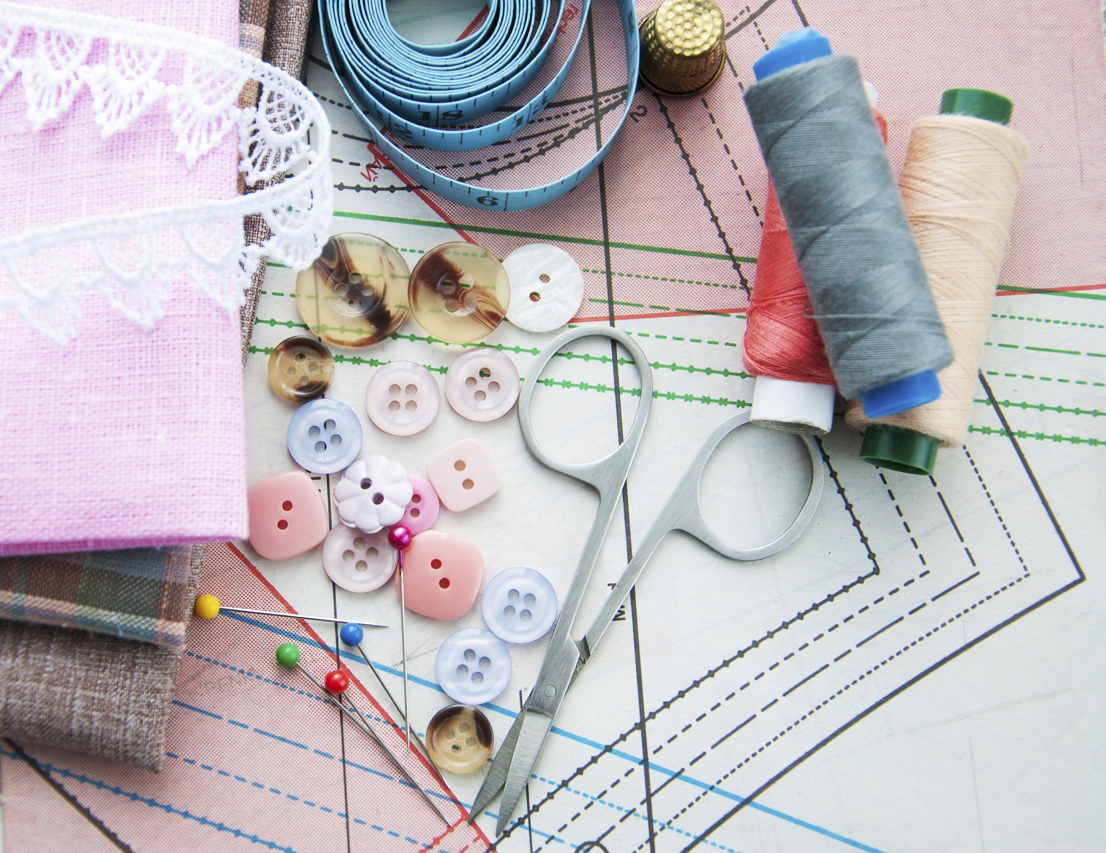 Фон шитье и рукоделие