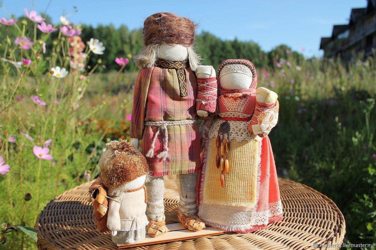 Авторские славянские куклы обереги