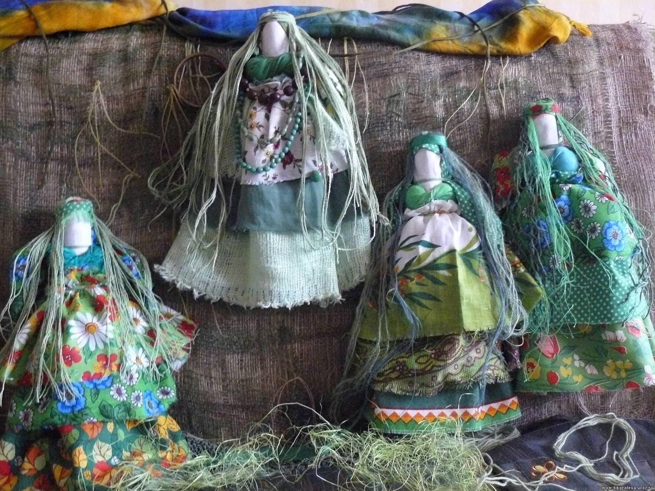 Традиционная народная кукла