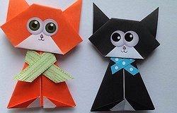 Как сделать кошку из бумаги своими руками для ребенка: поэтапная инструкция