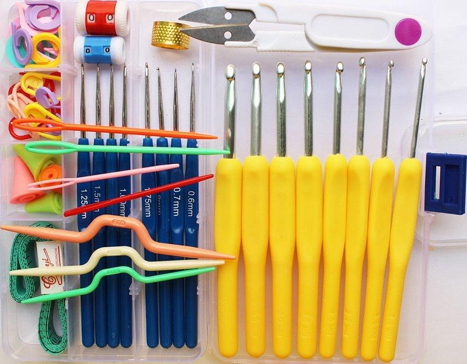 Спицы и крючки инструменты для вязания
