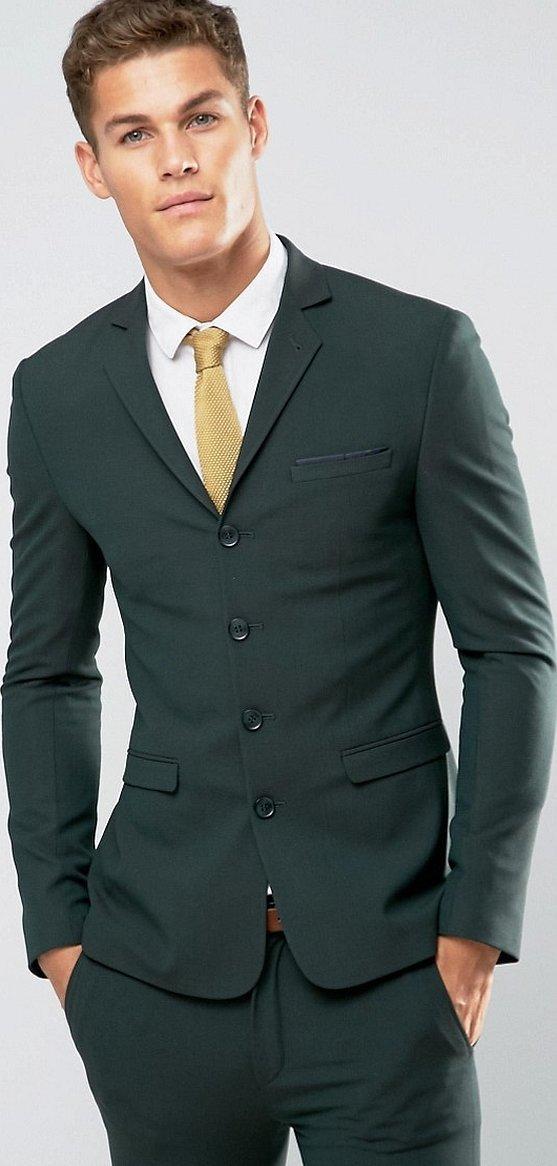 Зеленый пиджак мужской