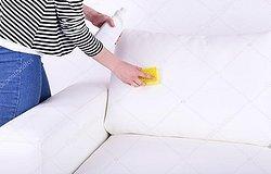 Как оттереть ручку с кожзама белого цвета, кожи или дермантина на диване, стуле или куртке