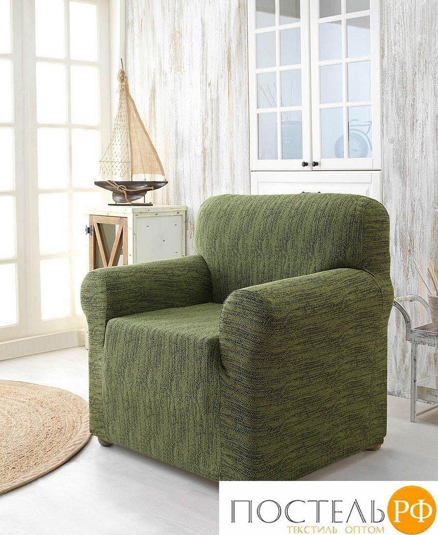 Чехол на кресло karna roma антрацит