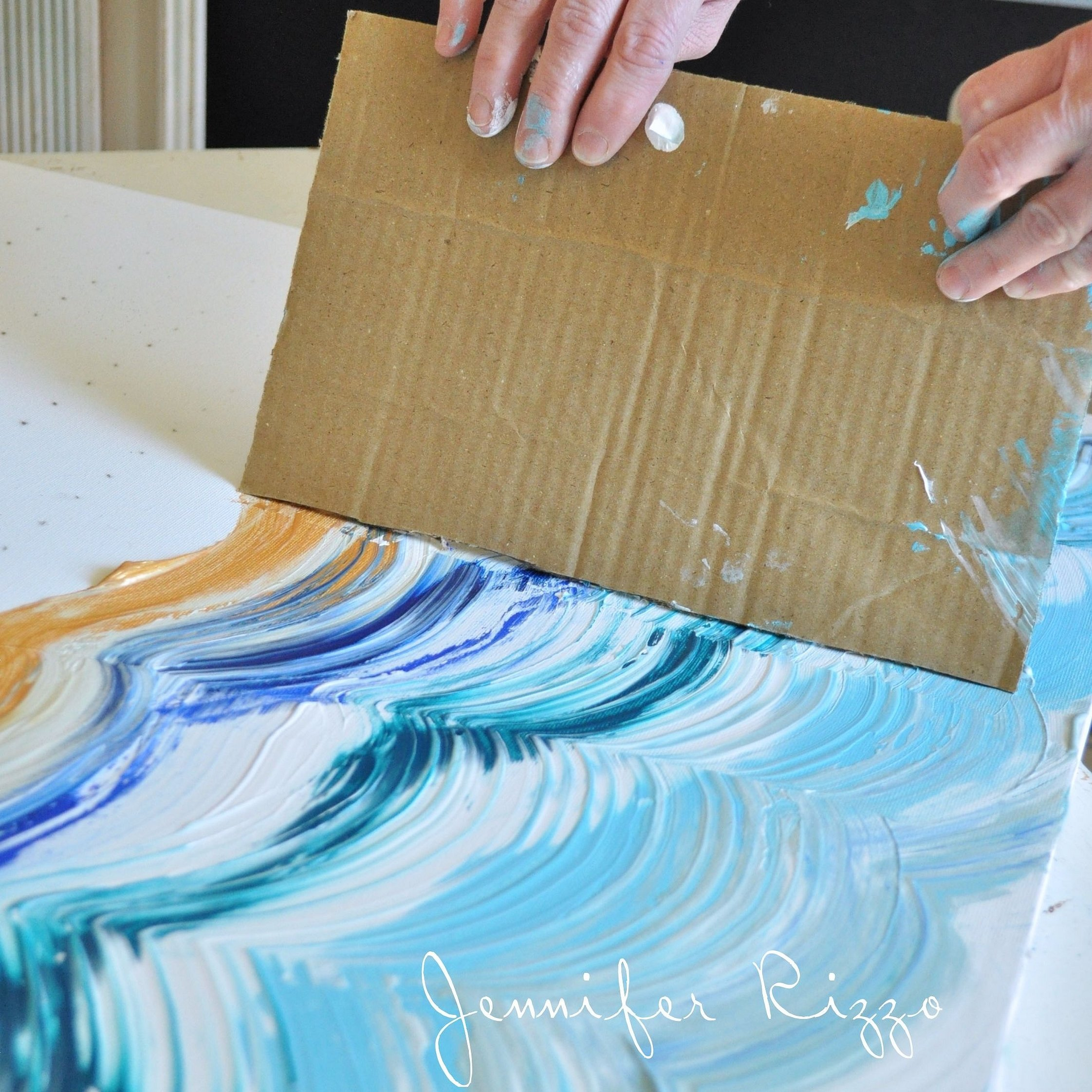Холст для рисования своими руками