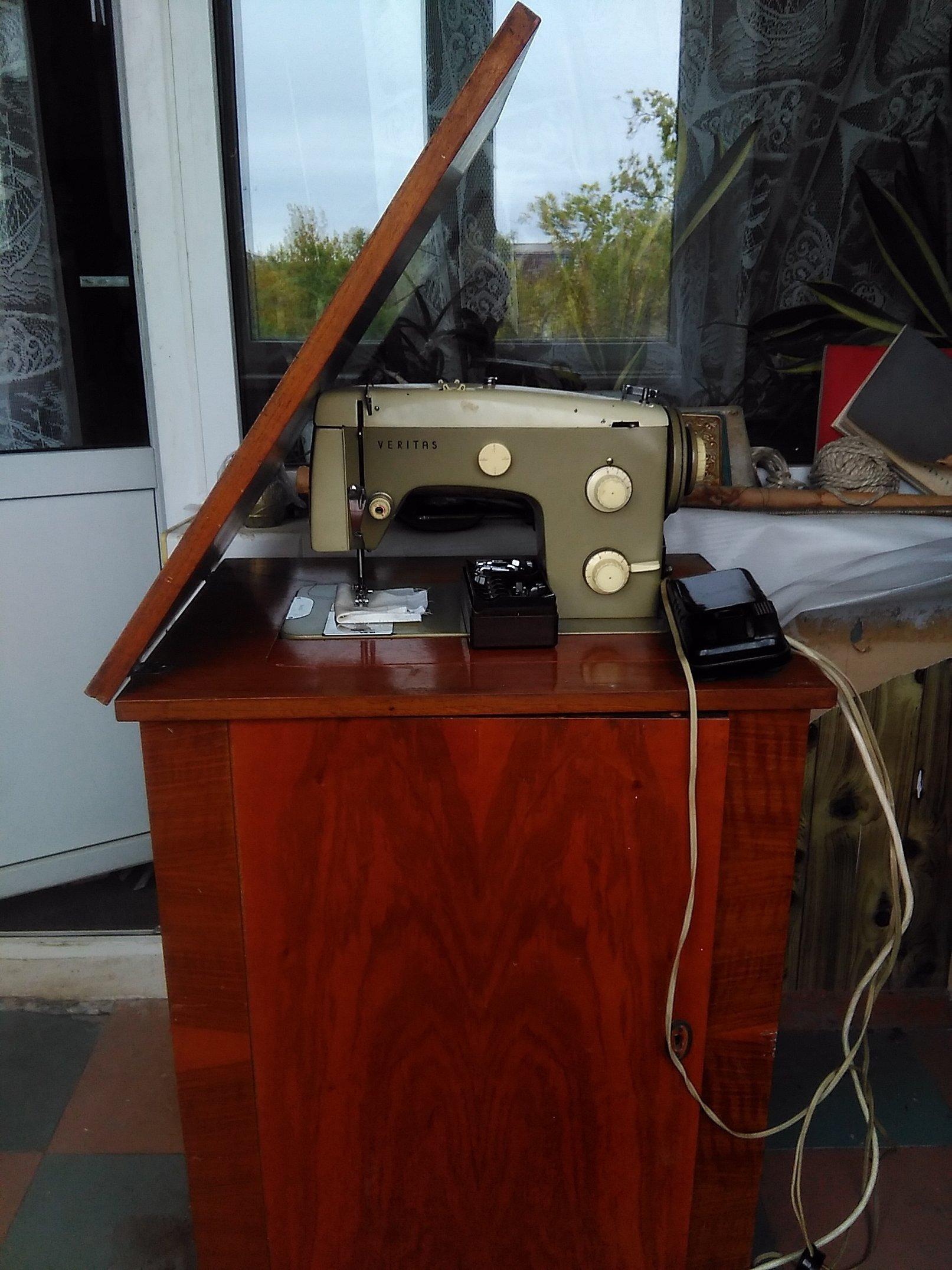 Машинка швейная веритас ссср
