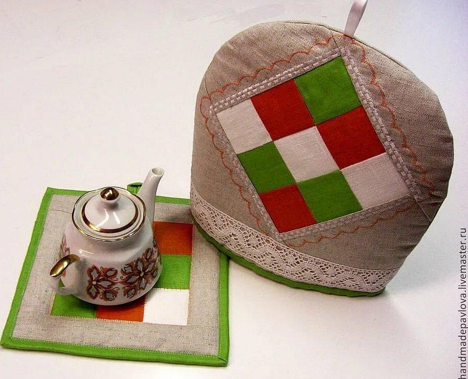 Грелка на заварочный чайник вышивка