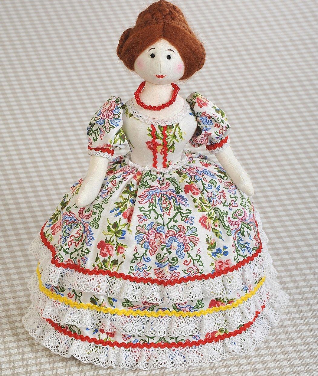 Кукла грелка на чайник выкройка барыня