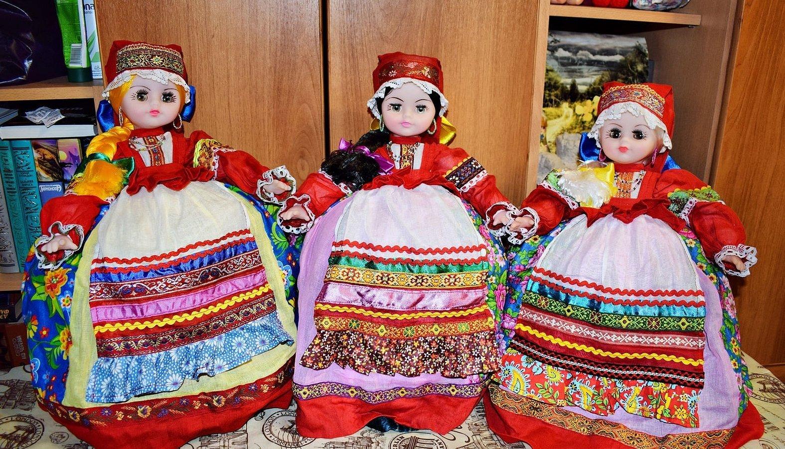 Кукла в русском народном стиле