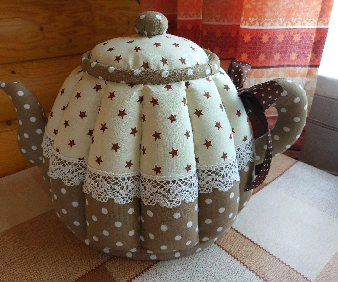 Текстильный чайник грелка на чайник