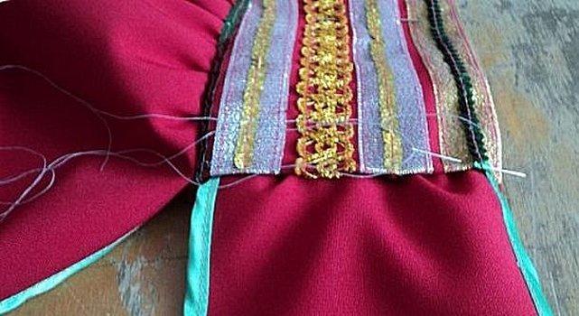 Технология шитья плечевых швов