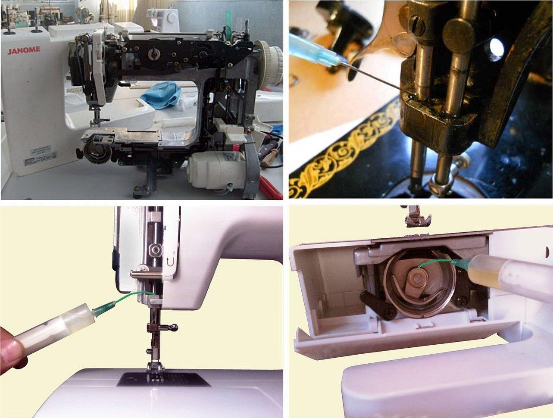 Швейная машинка джаноме смазка