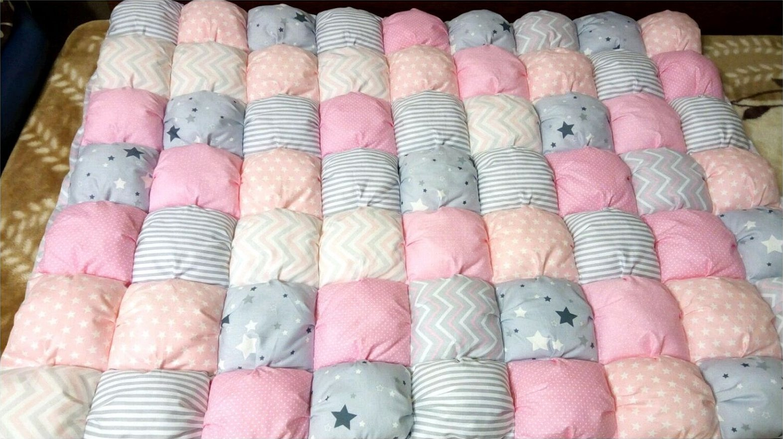 Детское одеяло бонбон
