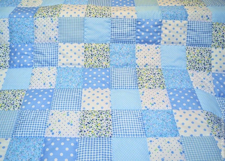 Лоскутное одеяло для новорожденного