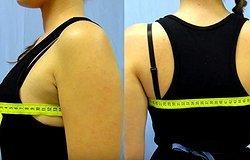 Как определить размер груди по обхвату