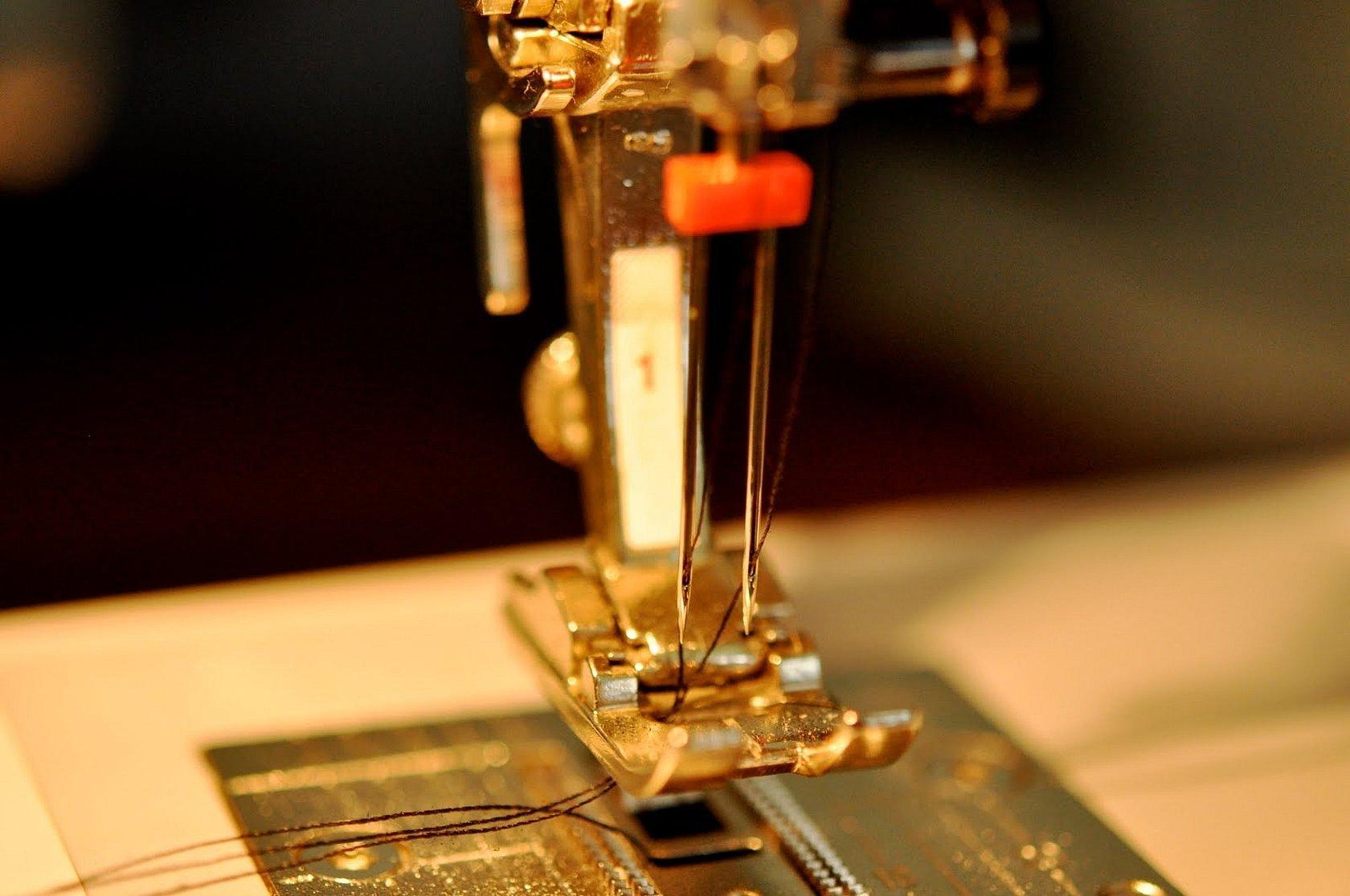 Двойная игла для швейной машинки