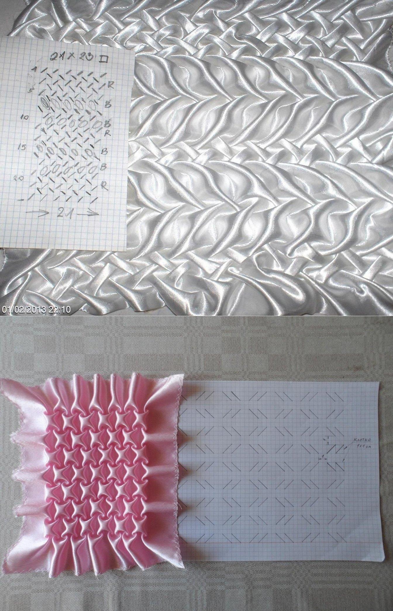 Буфы на подушках схемы