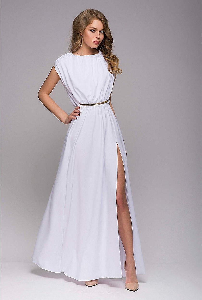 Вечерние платья в греческом стиле миди