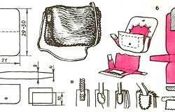 Как сшить сумку из кожи по выкройке своими руками