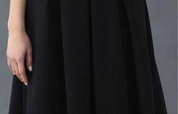 Схема пошива юбки со складками