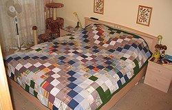 Как правильно сшить покрывало на кровать?