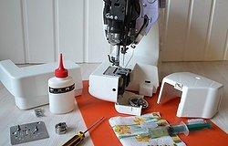 Как смазать швейную машинку Janome, Brother, Singer, Астралюкс и другие