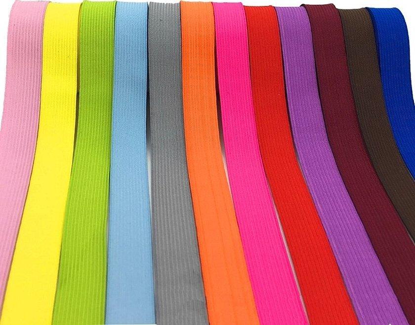 Окантовочная лента цветная для ткани
