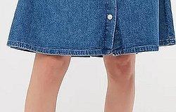 Как ушить джинсовую юбку в талии по бокам в домашних условиях без машинки
