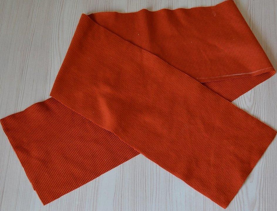 Двухцветный пионерский галстук