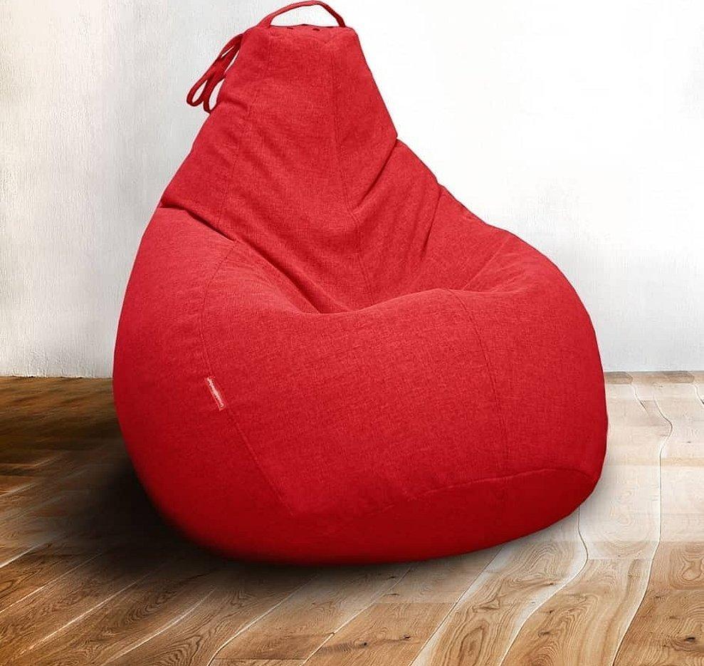 Кресло мешок кардинал бежевый таммантимебель