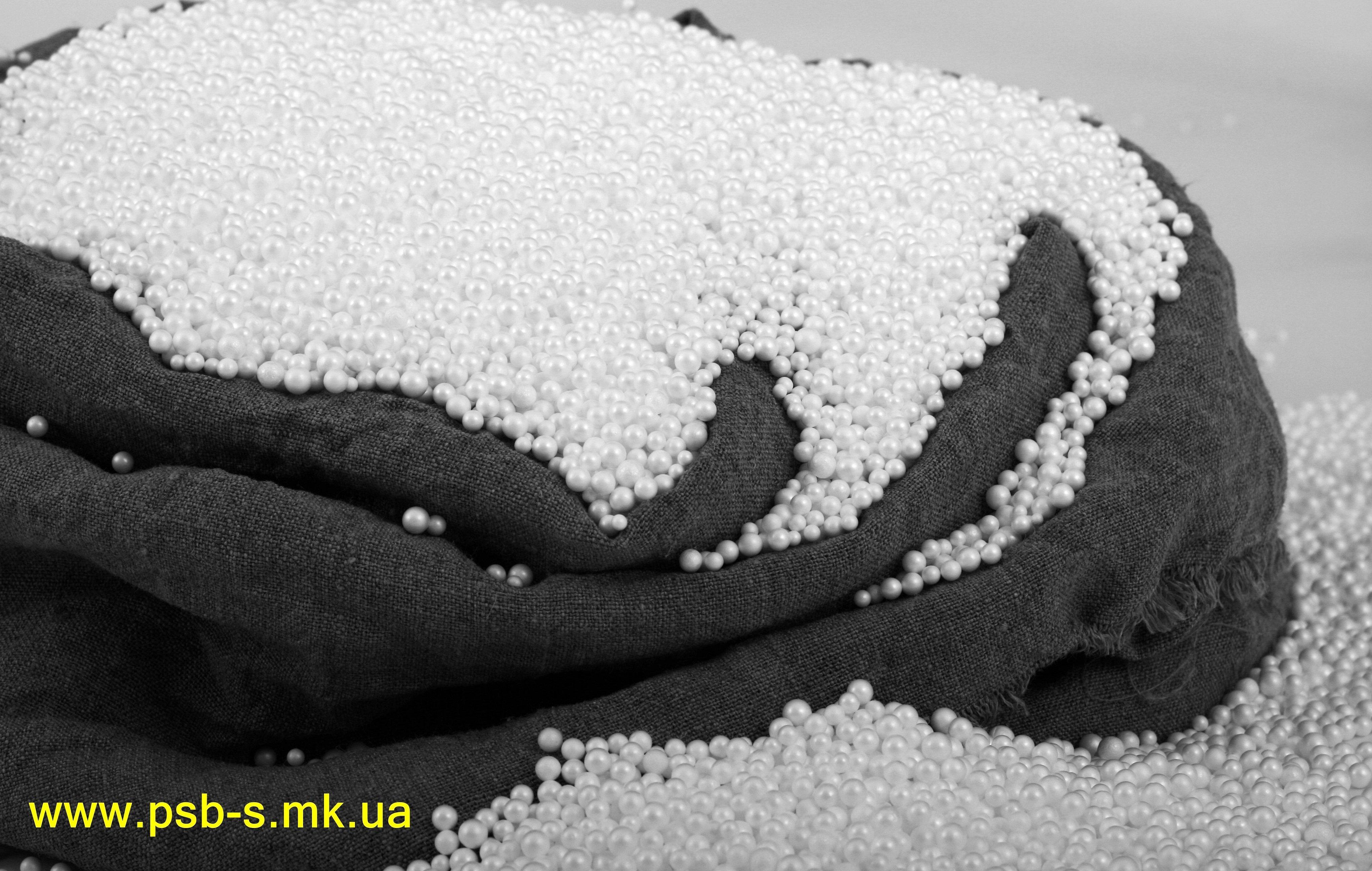 Наполнитель гранулы пенополистирола для подушек