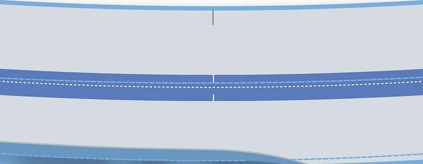 Голубая ленточка для надписи