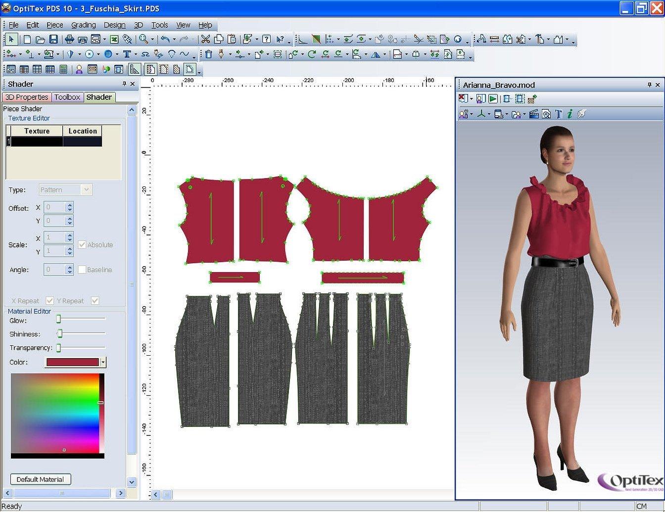 Марвелоус дизайнер лекала одежды