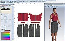Программы для построения 2D и 3D выкроек одежды