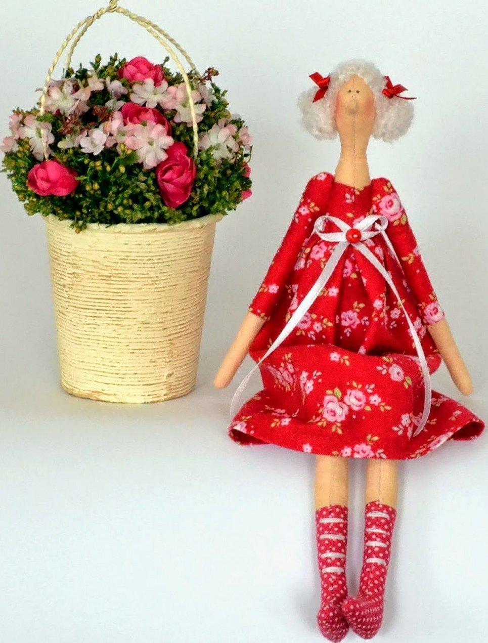 Кукла тильда в стиле бал