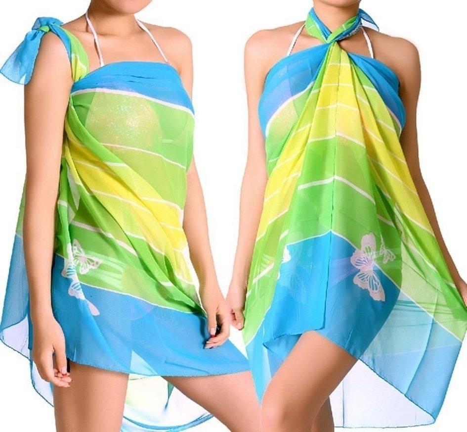 Парео платок для пляжа