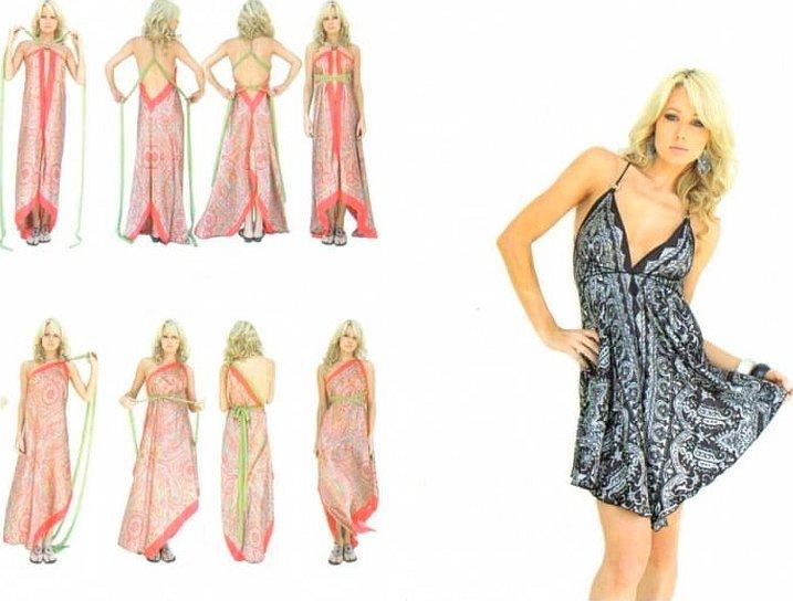 Платья и сарафаны сшитые из платков