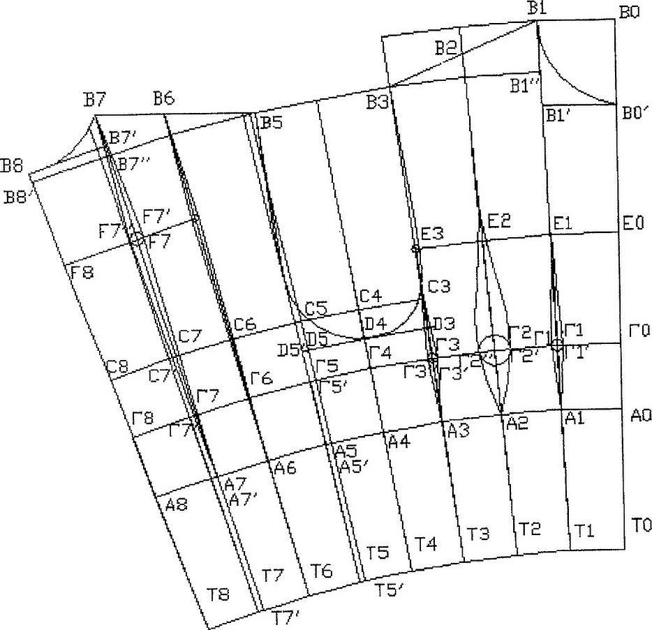 Схема раскладки укороченных рельсов