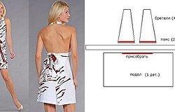 Конструирование выкройки летнего платья