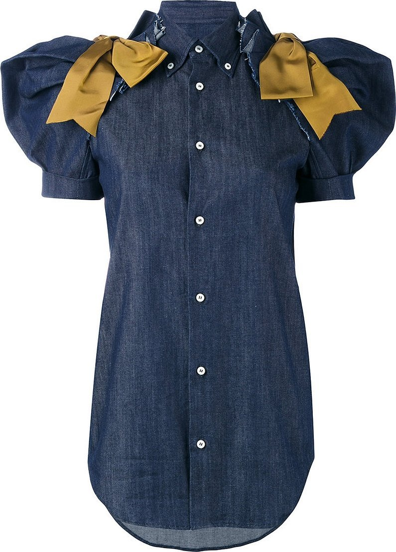 Платье рубашка с коротким рукавом на пуговицах