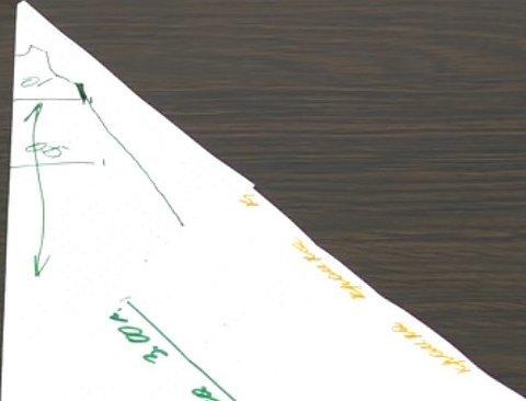 Схема вырезания снежинок из бумаги