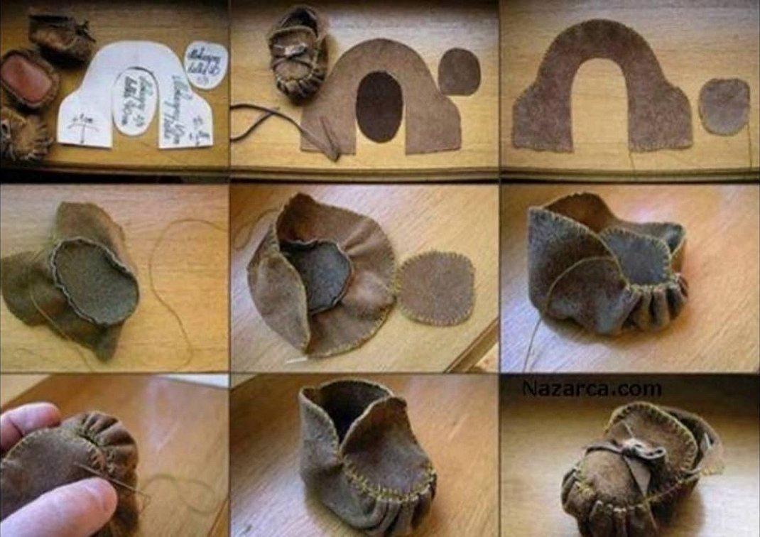 Как сделать обувь для куклы своими руками