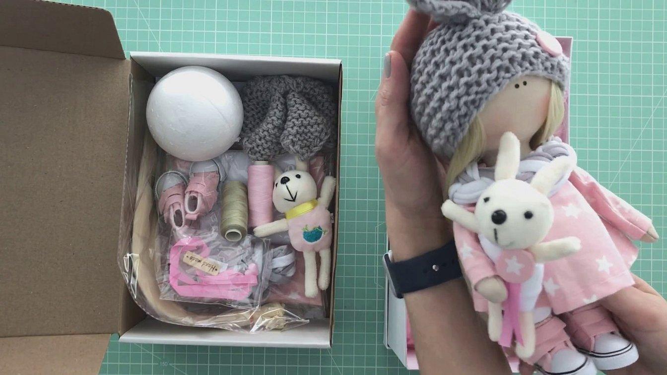 Набор для шитья интерьерной куклы зайчик