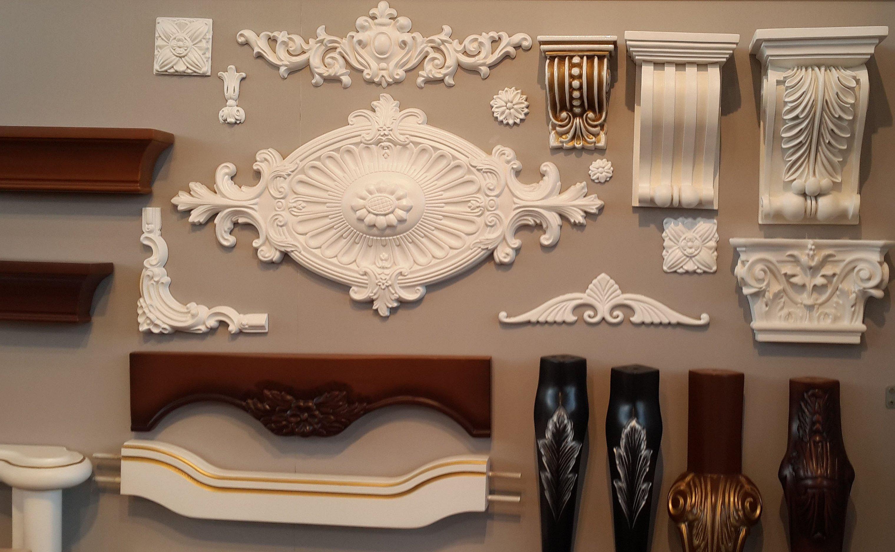 Лепной орнамент лепнина барокко архитектура